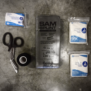 Six Echo System's Responder Kit - contents